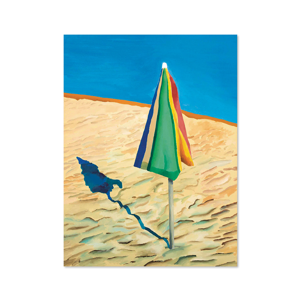 데이비드 호크니 DAVID HOCKNEY 010 Beach Umbrella