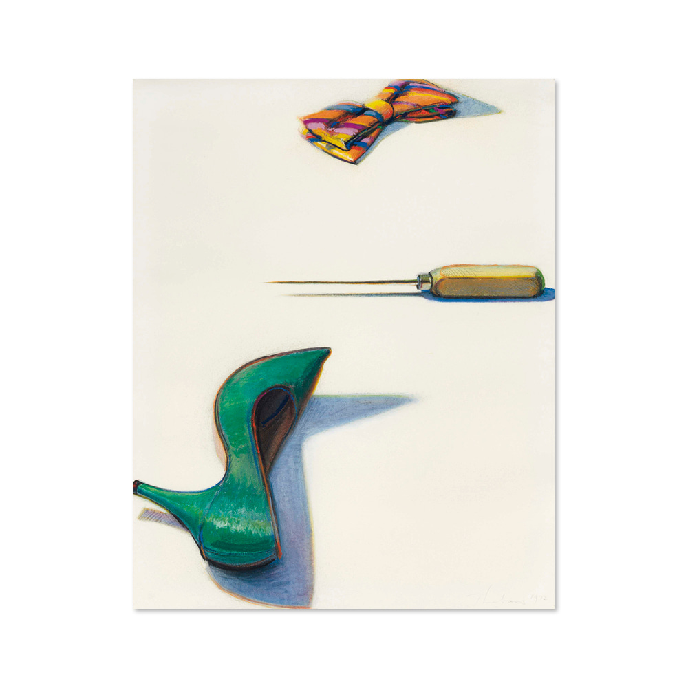 웨인 티보 WAYNE THIEBAUD 003 Bow Tie, Pick and Shoe