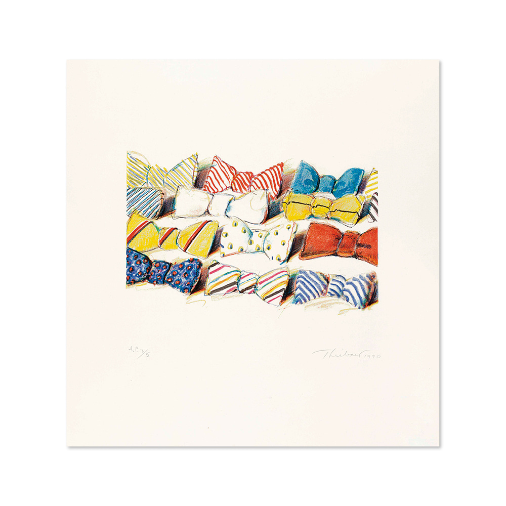 웨인 티보 WAYNE THIEBAUD 004 Bow Ties