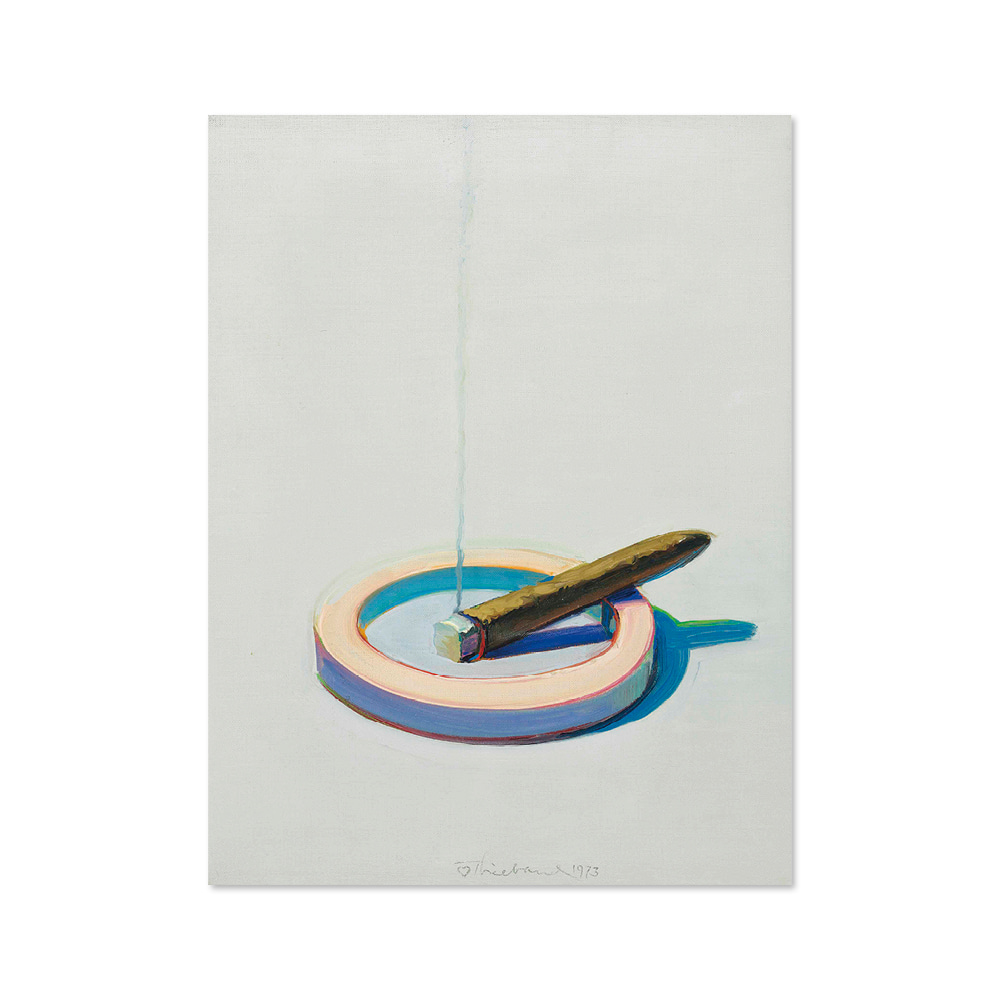 웨인 티보 WAYNE THIEBAUD 007 Cigar in Ashtray