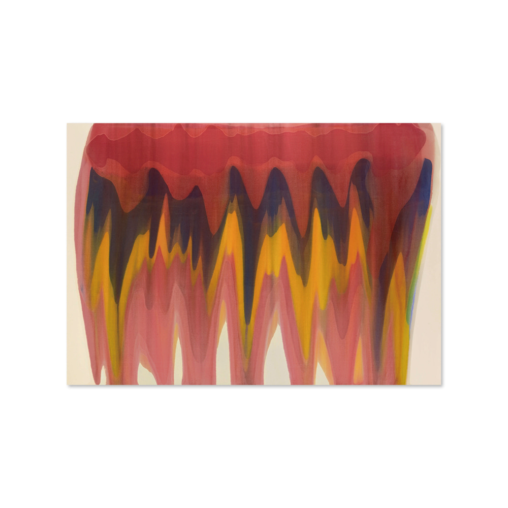 모리스 루이스 MORRIS LOUIS 004 Saf magna on canvas
