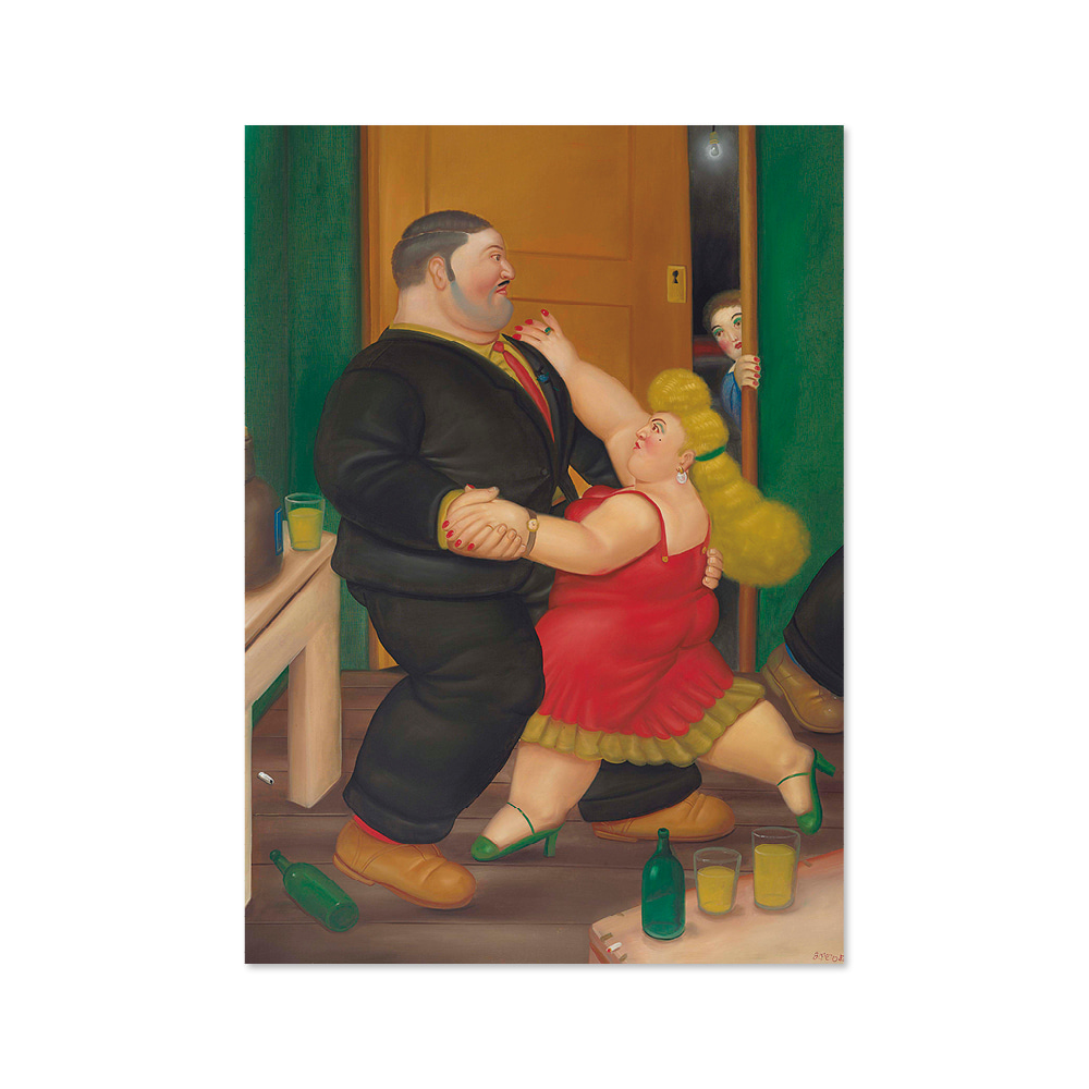 페르난도 보테로 FERNANDO BOTERO 002 Dancing Couple