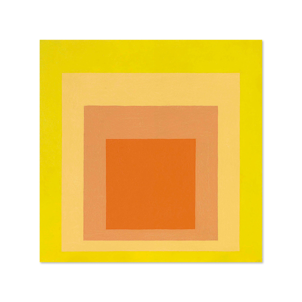 조셉 앨버스 JOSEF ALBERS 003 Homage to the Square- Midsummer