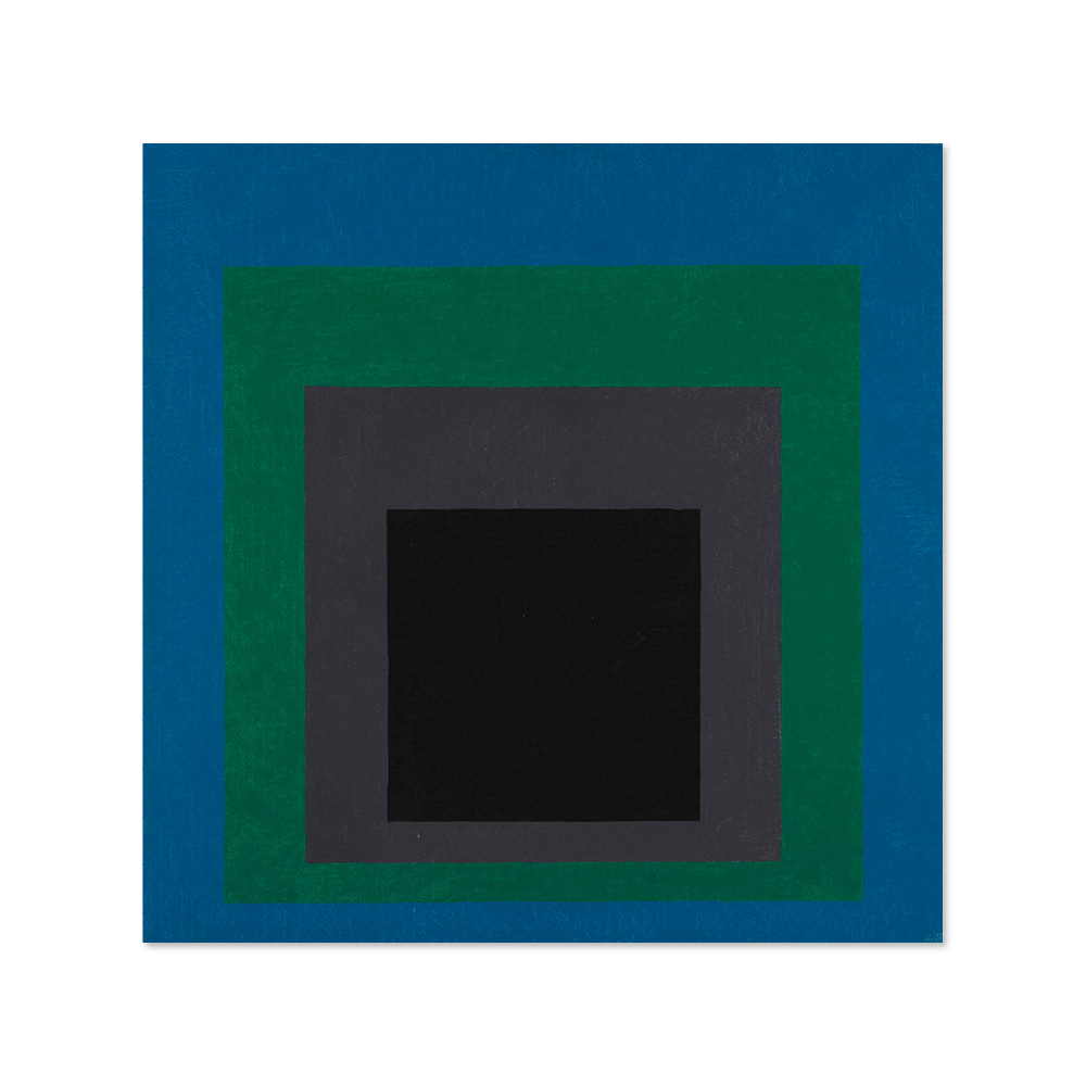 조셉 앨버스 JOSEF ALBERS 001 Homage to the Square signed with the artist's monogram and dated 'A73